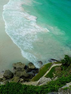 Crane Beach Cliffs - Barbados - Photo by Marylee Pope