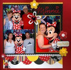 disney layouts | Disney Scrapbook Layouts