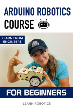 Develop an Arduino mobile robot in this DIY, Learn Robotics course. Design an arduino mobile robot, learn to code, and complete the robotics projects. Robotics Projects, Arduino Projects, Robotics Workshop, First Robotics Competition, Mechatronics Engineering, Learn Robotics, Mobile Robot, Arduino Programming, Space Engineers
