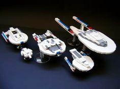 Star Trek Lego Starships