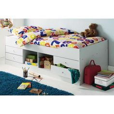 Wave Wooden Cabin Bed |up to 60% OFF RRP| Next Day - Select Day Delivery