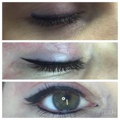 orrection on liner done today! Simple Eyeliner, Perfect Eyeliner, Best Eyeliner, How To Apply Eyeliner, Pencil Eyeliner, Permanent Eyeliner, Semi Permanent Makeup, Best Waterproof Eyeliner, Eyeliner Shapes