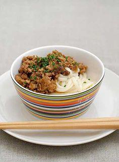 Simple Minced Pork Noodles Recipe | SAVEUR