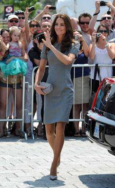 Canada and USA Royal Tour 2011 Dress - Catherine Walker Shoes - Tabitha Simmons Clutch - Hobbs
