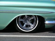 1959 Chevy El Camino On Astro Supremes & Thin White Walls...