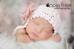 Crochet Pattern for Vintage Star Baby Bonnet by crochetbyjennifer, $4.95