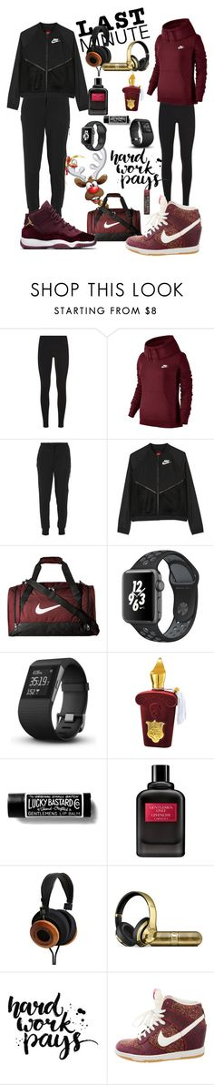 """""""Fitness Couple Gifts"""" by rnett51 ❤ liked on Polyvore featuring NIKE, Fitbit, Xerjoff, Givenchy and Burt's Bees"""