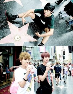 bangtan boys in USA. I want to meet them soooooo bad! It's not fair that some of the LA fans got to meet them. :(