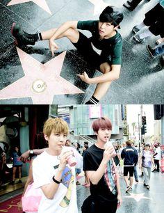 bangtan boys in USA :)