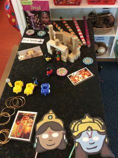 Diwali small world table