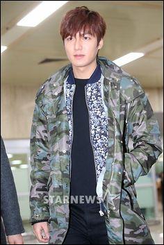 140308 Lee Min Ho @ Gimpo Airport