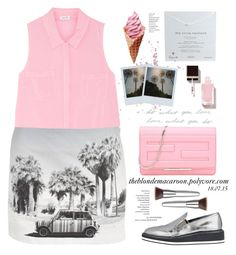 """18.07.15 "" by theblondemacaroon ❤ liked on Polyvore"