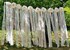 Boho Wedding Decor, Wedding Backdrop Garland Boho, Shabby Chic Romantic Wedding Backdrop Garland Curtain, Boho Bridal Shower Decor, Bohemian Lace An absolutely glamorous stunning cream, ivory, white and pink wedding garland with various high quality new and vintage fabric