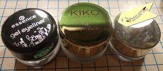 eyeliner in gel:essence vs l'oreal vs kiko