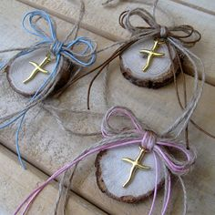 Nature Crafts, Home Crafts, Baptism Favors, Baptism Ideas, Nursery Design, Best Part Of Me, Craft Gifts, Christening, Gift Wrapping