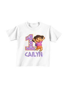 Dora Birthday Shirt By InviteMeToTheParty On Etsy 1595