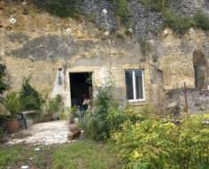 Beautifully renovated troglodyte cave in French countryside...says the owners plan to put it on AirBnB!