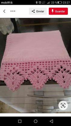 Crochet Boarders, Crochet Edging Patterns, Crochet Lace Edging, Granny Square Crochet Pattern, Crochet Diagram, Crochet Designs, Crochet Doilies, Crochet Flowers, Crochet Baby