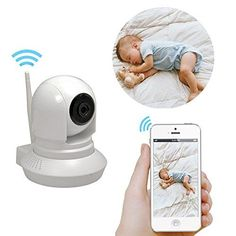 Wireless Security IP Camera WiFi Security Surveillance System remote viewing Smart Home Monitoring CCTV Surveillance System 720p HD Night Vision - $69.99