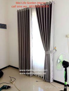 Surabaya, Home Room Design, House Design, Aesthetic Room Decor, House Rooms, Curtains, Bedroom, Interior, Modern
