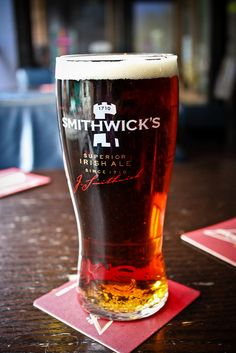 Smithwicks in Dublin