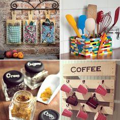 DIY: 24 ideias criativas e econômicas para decorar e organizar a cozinha