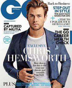 Chris Hemsworth GQ Australia