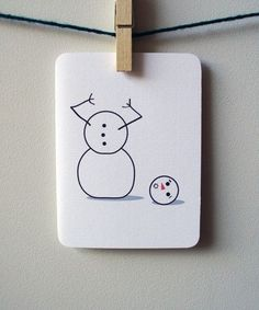 Items similar to Headless Snowman - Funny Christmas Card on Etsy Snowman card! Items similar to Headless Snowman - Funny Christmas Card on Etsy Snowman card! Christmas Doodles, Christmas Card Crafts, Funny Christmas Cards, Christmas Drawing, Printable Christmas Cards, Christmas Art, Christmas Humor, Holiday Cards, Christmas Decorations