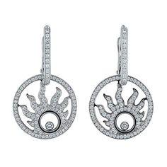 1.00 Ct Round SIM Diamond Cross Drop//Dangle Women/'s Earrings 14k White Gold Over