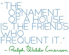 Ralph Waldo Emerson quote about home