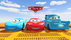 Cars 2: Video for Kids - Disney Pixar Cars Lightning McQueen Jump and St...