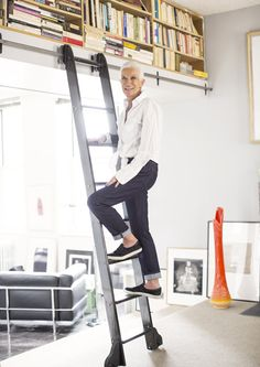 Rados Protic, style story, style icon, New York apartment / Garance Doré