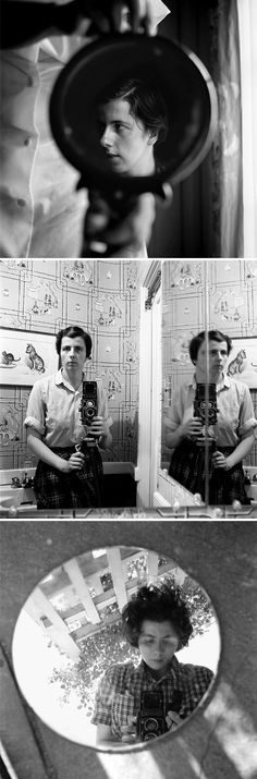 self portraits, vivian maier