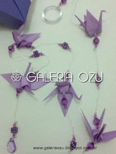 origami tsuru mobile  #tsuru #crane #mobile #origami #galeriaozu #indaiatuba #saopaulo #paperfolding #folding #origamiart #origamidecor #paper