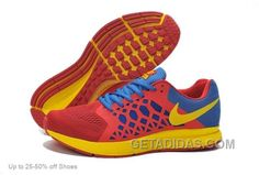 size 40 17728 a7776 Nike Men Zoom Pegasus 31 Running Shoes Red Blue Yellow Online, Price    67.00 - Adidas Shoes,Adidas Nmd,Superstar,Originals. Hombre Mujer,  Zapatillas ...