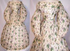 All The Pretty Dresses: Oh my! Romantic Era Print Dress.
