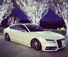 A white luxury Audi is the car of my dreams. Maserati, Bugatti, Lamborghini, Ferrari, Audi Tt, Audi Cars, Audi 2017, Ford Gt, Sexy Cars