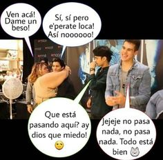 LOL!! Pobre Erick!! Fan Page, Cool Bands, Cool Pictures, Funny Memes, Humor, My Love, Spain, Ideas, Love Of My Life