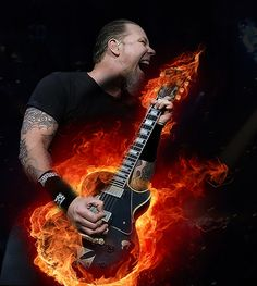 Jamez Smokin Hot Guitar