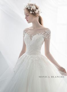 Monica Blanche Cute Wedding Dress, White Wedding Dresses, Bridal Dresses, Wedding Gowns, Wedding Ceremonies, Wedding Bouquets, Wedding Prep, Wedding Bells, Elegant Wedding