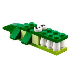 Unleash your imagination with the LEGO® Green Creativity Box! Lego Duplo, Lego Design, Zoo Lego, Instructions Lego, Lego Therapy, Lego Challenge, Free Lego, Lego Club, Lego Craft