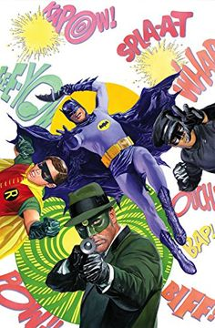 Batman 66 Unframed Giclee on Canvas Limited Edition Signed by Alex Ross W/ COA @ niftywarehouse.com #NiftyWarehouse #Batman #DC #Comics #ComicBooks
