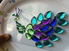 Diwali gems rangoli | A Spoonfull of ideas