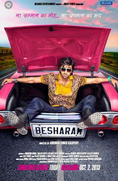 First Look Of #Ranbir Kapoor In #Besharam!
