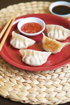 Chinese New Year: Pork and mushroom dumplings from The Chinese Takeout Cookbook by Diana Kuan