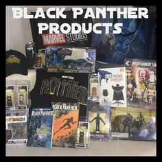Check out all the amazing Black Panther merchandise! #BlackPantherEvent