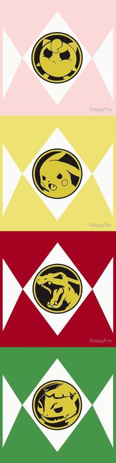 Mighty Evolving Poké Rangers