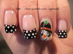 Nailart: Snowgirl - Nail Art Gallery by NAILS Magazine