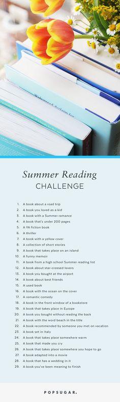Take this fun Summer reading challenge!