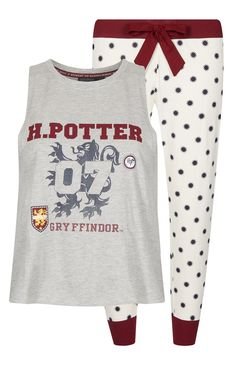 Nightwear - Pyjama Harry Potter legging et débardeur - Best Photo Pijamas Harry Potter, Harry Potter Leggings, Harry Potter Pyjamas, Harry Potter Room, Harry Potter Style, Harry Potter Outfits, Lazy Day Outfits, Cool Outfits, Primark